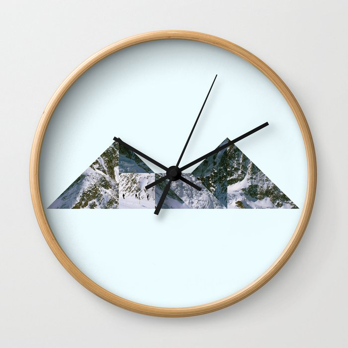 Glacier Wall Clock