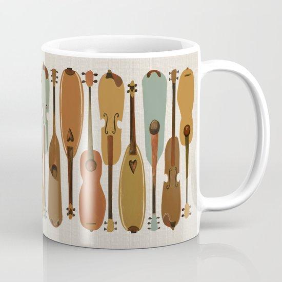 Vintage Instrument Collection  Mug