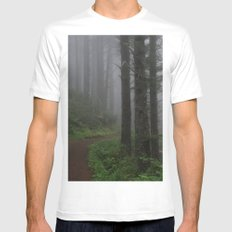 Forest of Fog Mens Fitted Tee White MEDIUM