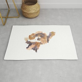 Soft Texture Watercolor | [Grief] A Glimpse Rug