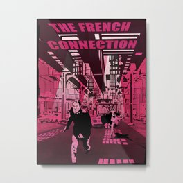 The French connection vector Metal Print