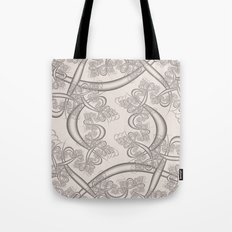 Bridal Blush Fractal Tote Bag
