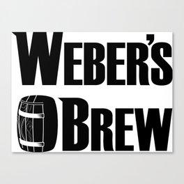 Weber Brew Canvas Print