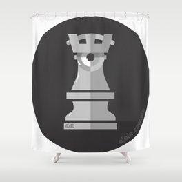 castle[ye] b&n Shower Curtain
