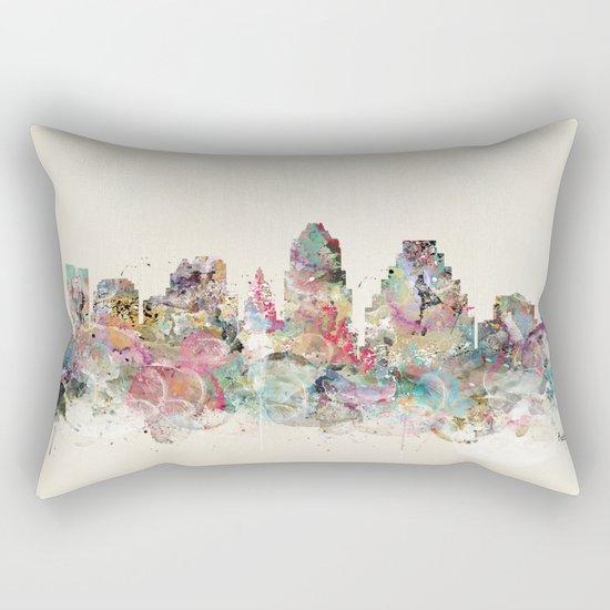 austin texas Rectangular Pillow