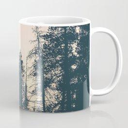Orange Sherbert Skies | Mountainside Morning Coffee Mug