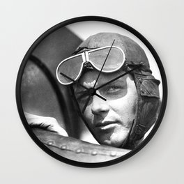 Charles Lindbergh - © Doc Braham; All Rights Reserved. Wall Clock