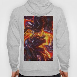 Lava Abstract Art Hoody