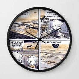 Laugh Menu 79 Wall Clock