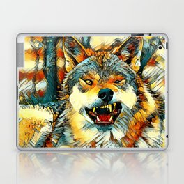 AnimalArt_Wolf_20170606_by_JAMColors Laptop & iPad Skin