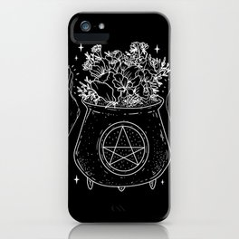 magical cauldron iPhone Case