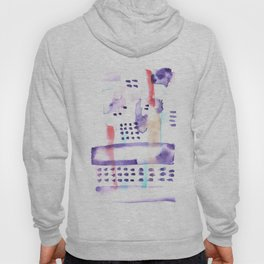 170603 Watercolour Colour Study 2   Modern Watercolor Art   Abstract Watercolors Hoody