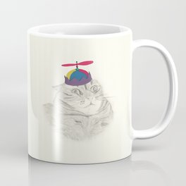 Nelly in the Helicopter Hat Coffee Mug