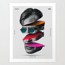 196 - Dividido Art Print