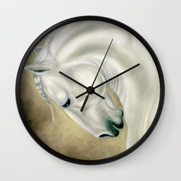 Beautiful Lusitano Horse Wall Clock