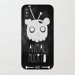 Animal Muerto iPhone Case