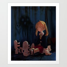 Soul Eater - what do you mean i did it Art Print