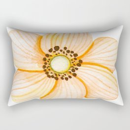 One Orange Flower Rectangular Pillow