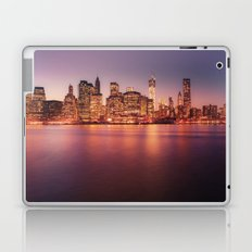 New York City Skyline - Lights Laptop & iPad Skin