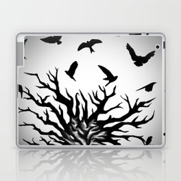 under dry roots. Laptop & iPad Skin