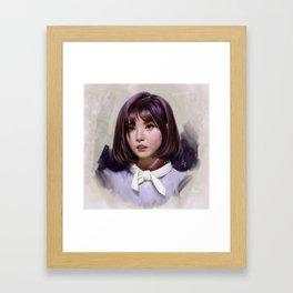 Portait of Eunha Framed Art Print