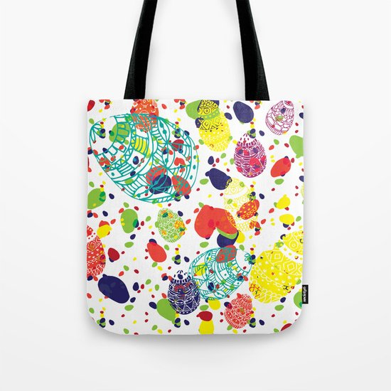 Great  Easter messy Tote Bag