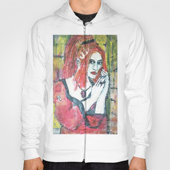 RED HOT GOTH CHICK Hoody