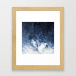Agate Clouds Framed Art Print