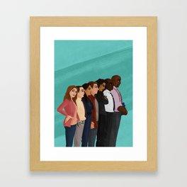 Nine-Nine! Framed Art Print