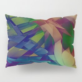 Color waves Pillow Sham