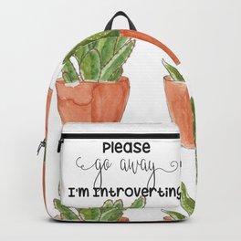 Please go away Backpack