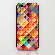 Abstract colorful iPhone & iPod Skin