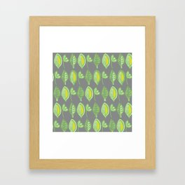 Leaves2 Framed Art Print