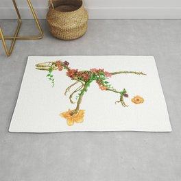 Raptor Orchid Garden Rug
