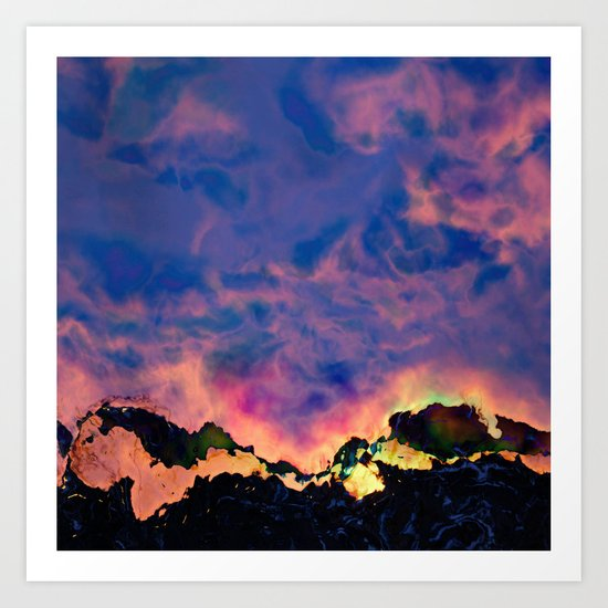The World On Fire Art Print