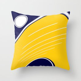 """ OVALINE - Y "" Throw Pillow"