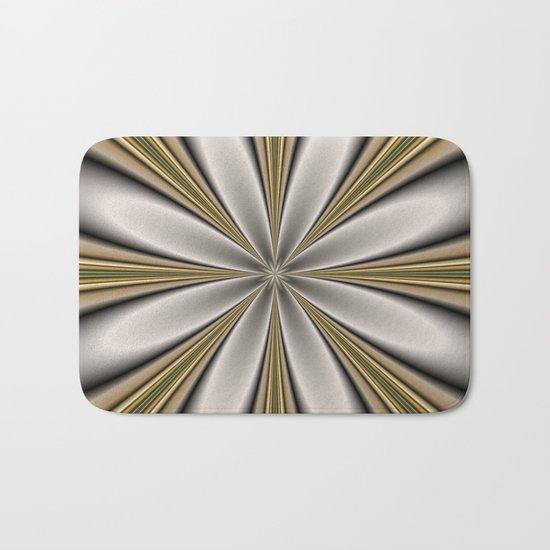 Fractal Flower in CMR 01 Bath Mat