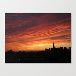 Brooklyn Sunset Canvas Print