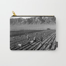 Farm workers and Mt. Williamson Carry-All Pouch