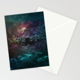 Unknown feelings Stationery Cards