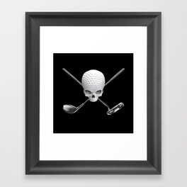 Fairway to Hell Framed Art Print