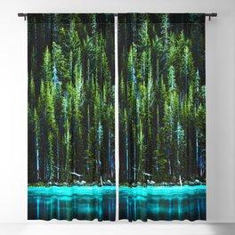Emerald Pines Saphire Lake Blackout Curtain