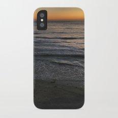 sunset iPhone X Slim Case