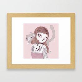 Cats > Catcalls Framed Art Print