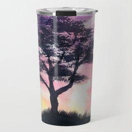 Safari Sunset Travel Mug