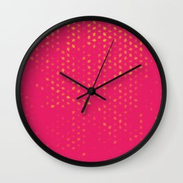 leo zodiac sign pattern py Wall Clock