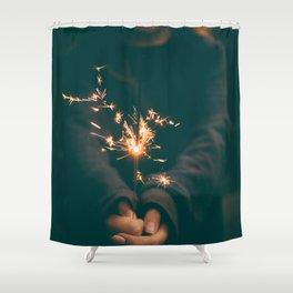 FIRECRACKER STICK Shower Curtain