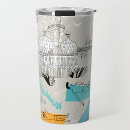 Brighton UK Travel Mug