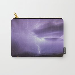 Lightning in Olot Carry-All Pouch