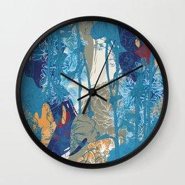Flowers 01 Wall Clock